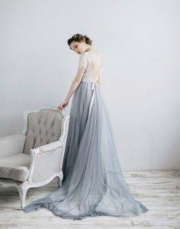 30 Soft Color Look Bridal Dresses Ideas 22