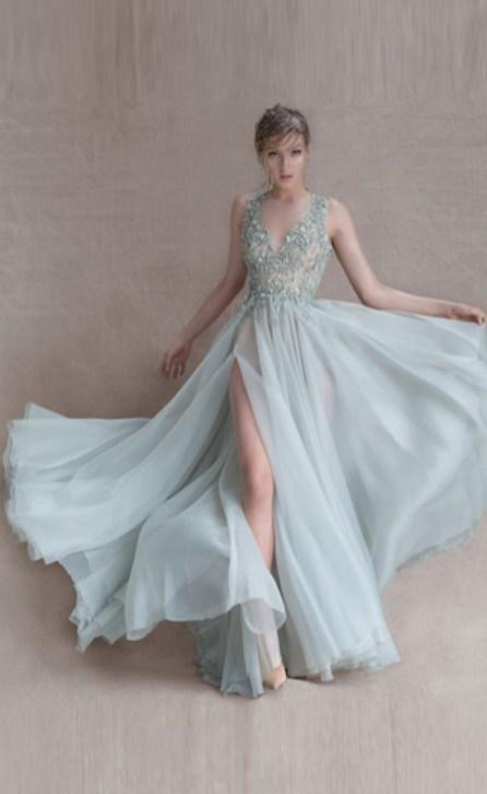 30 Soft Color Look Bridal Dresses Ideas 3