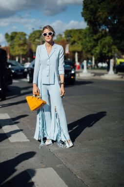 40 All Blue Outfits Street Styles Ideas 11