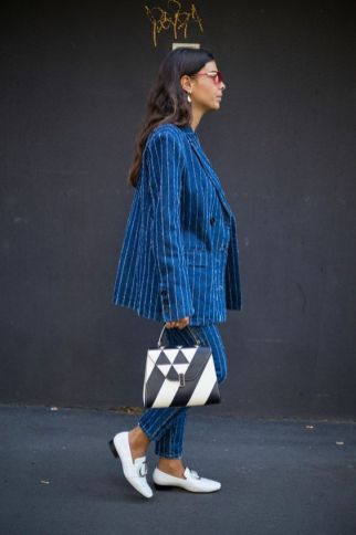 40 All Blue Outfits Street Styles Ideas 18