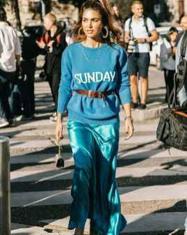 40 All Blue Outfits Street Styles Ideas 21