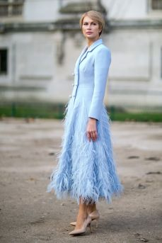 40 All Blue Outfits Street Styles Ideas 28