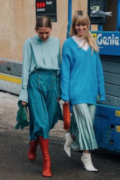 40 All Blue Outfits Street Styles Ideas 3