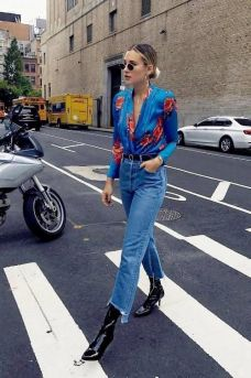 40 All Blue Outfits Street Styles Ideas 30