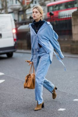 40 All Blue Outfits Street Styles Ideas 37