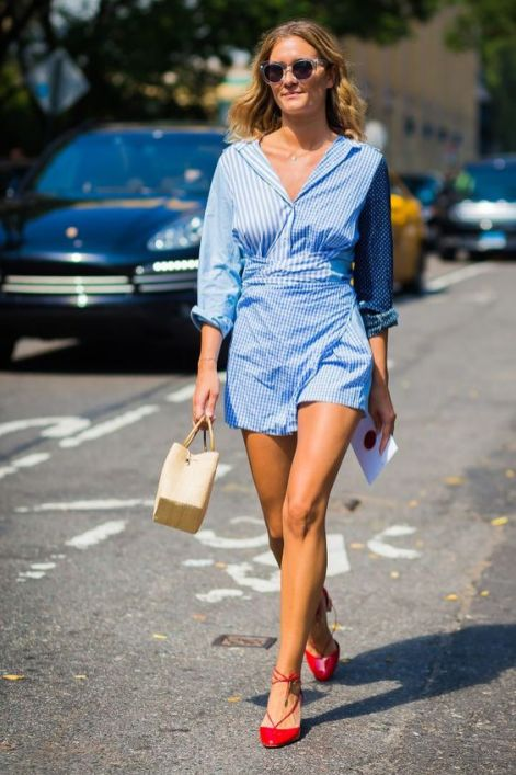 40 All Blue Outfits Street Styles Ideas 38