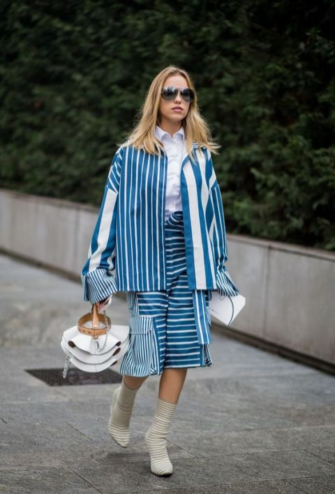 40 All Blue Outfits Street Styles Ideas 46