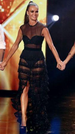 40 Black Mesh Long Dresses Ideas 37