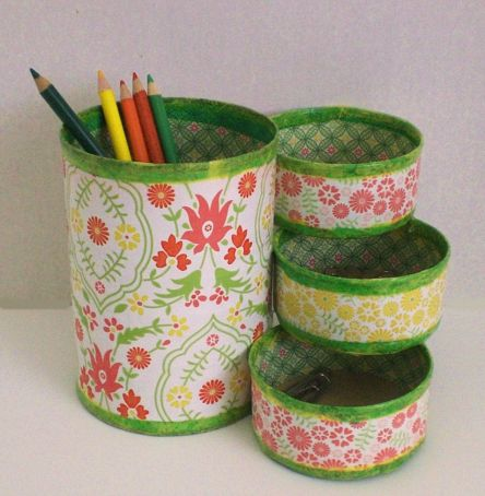 40 DIY Recycling Cans Ideas 12