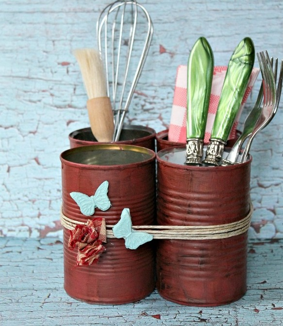 40 DIY Recycling Cans Ideas 27