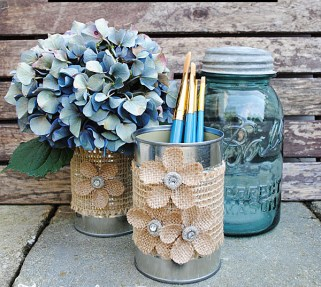 40 DIY Recycling Cans Ideas 30