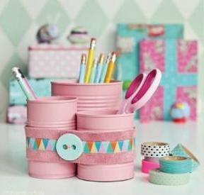 40 DIY Recycling Cans Ideas 33