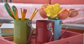 40 DIY Recycling Cans Ideas 41