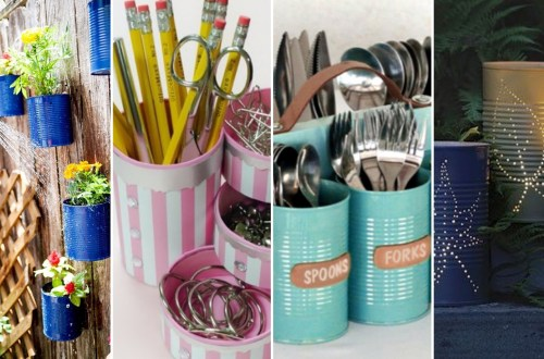 40 DIY Recycling Cans Ideas