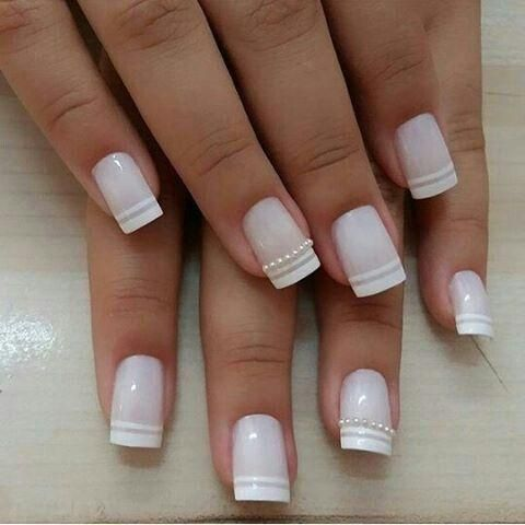 40 elegant look bridal nail art ideas  style female