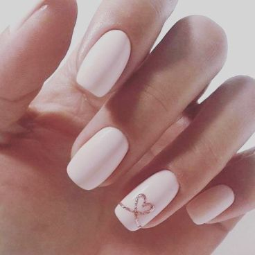 40 Elegant Look Bridal Nail Art Ideas 17