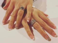 40 Elegant Look Bridal Nail Art Ideas 39