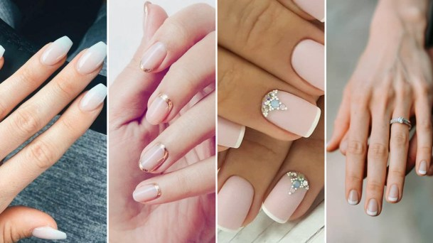 40 Elegant Look Bridal Nail Art Ideas