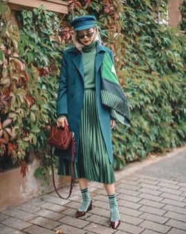 40 Fashionable Green Outfits Ideas 1