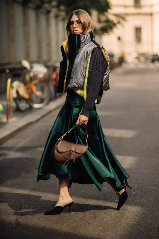 40 Fashionable Green Outfits Ideas 12