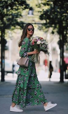 40 Fashionable Green Outfits Ideas 15