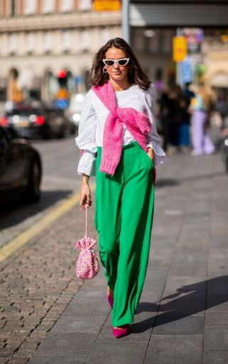 40 Fashionable Green Outfits Ideas 19