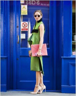 40 Fashionable Green Outfits Ideas 21
