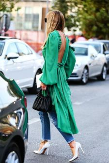 40 Fashionable Green Outfits Ideas 3