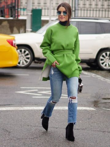 40 Fashionable Green Outfits Ideas 33