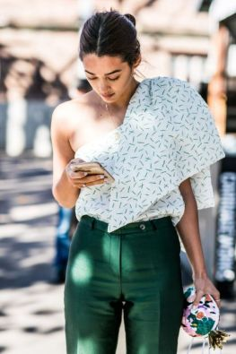 40 Fashionable Green Outfits Ideas 37
