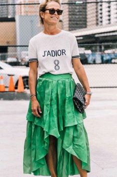40 Fashionable Green Outfits Ideas 42