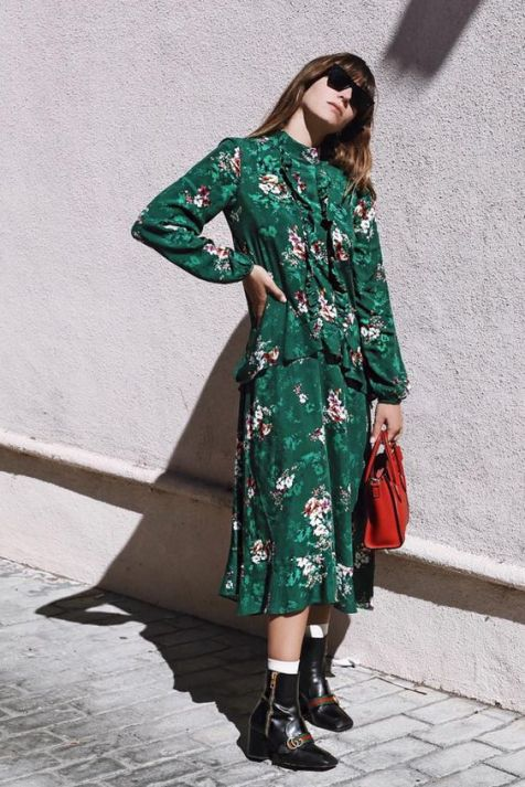 40 Fashionable Green Outfits Ideas 44