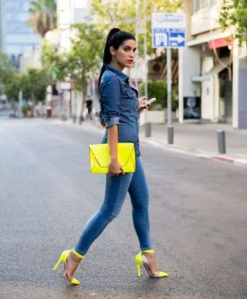 40 How to Wear Neon Shoes Ideas 1