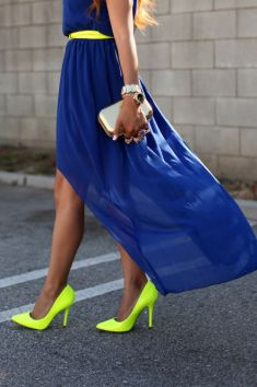 40 How to Wear Neon Shoes Ideas 34
