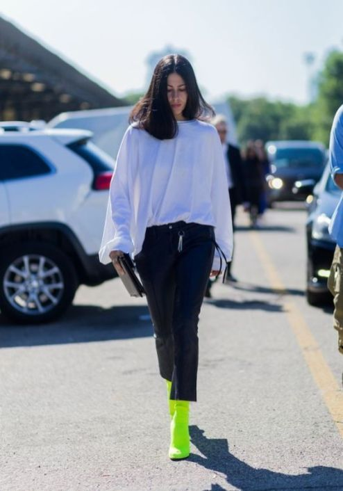 40 How to Wear Neon Shoes Ideas 4
