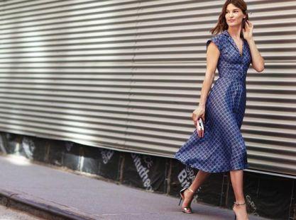 40 How to Wear Tea Lengh Dresses Street Style Ideas 34