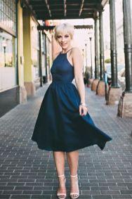 40 How to Wear Tea Lengh Dresses Street Style Ideas 40