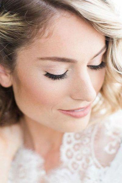 40 Natural Wedding Makeup Ideas 16