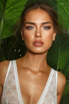 40 Natural Wedding Makeup Ideas 20