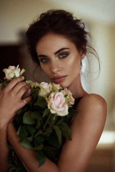 40 Natural Wedding Makeup Ideas 26
