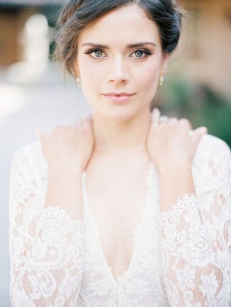 40 Natural Wedding Makeup Ideas 33
