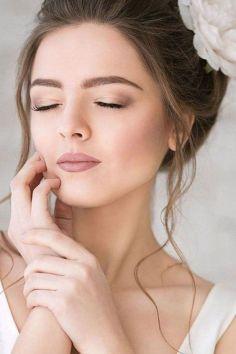 40 Natural Wedding Makeup Ideas 35