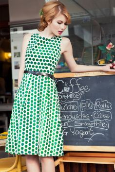 40 Polka Dot Dresses In Fashion Ideas 10