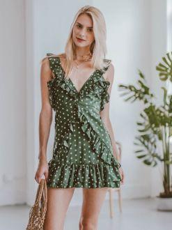40 Polka Dot Dresses In Fashion Ideas 28
