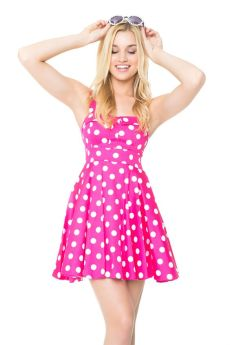 40 Polka Dot Dresses In Fashion Ideas 41
