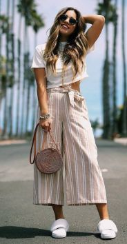 40 Ways to Wear Palazzo Pants for Summer Ideas 13