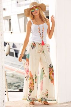 40 Ways to Wear Palazzo Pants for Summer Ideas 14