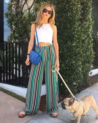 40 Ways to Wear Palazzo Pants for Summer Ideas 32