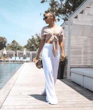 40 Ways to Wear Palazzo Pants for Summer Ideas 33