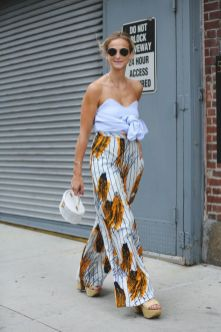40 Ways to Wear Palazzo Pants for Summer Ideas 38